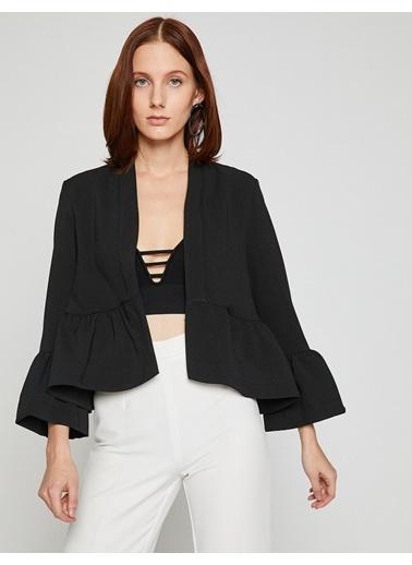Koton Fırfır Detaylı Ceket